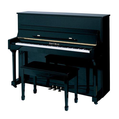 "Henry F. Miller HMV-047 47"" Studio Piano"