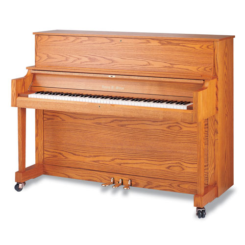 "Henry F. Miller HMV046 46"" Studio Piano"