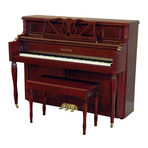 Henry F. Miller 47″ Upright Piano