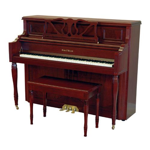 """Henry F. Miller HMV047 47"""" Upright Piano"""